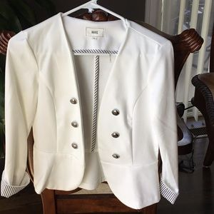 Buttoned down blazers
